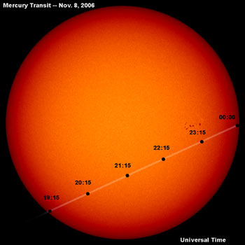 2006 transit of mercury